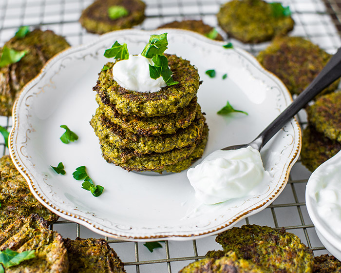 Baked Broccoli and Spinach Fritters 6 (1 of 1)