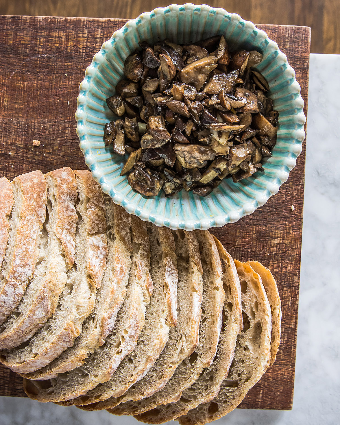 Grilled Brie Mushroom Sandwich 1 (1 of 1)