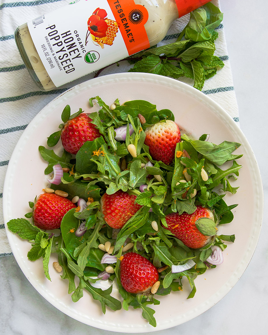 Strawberry Arugula Salad 1 (1 of 1)