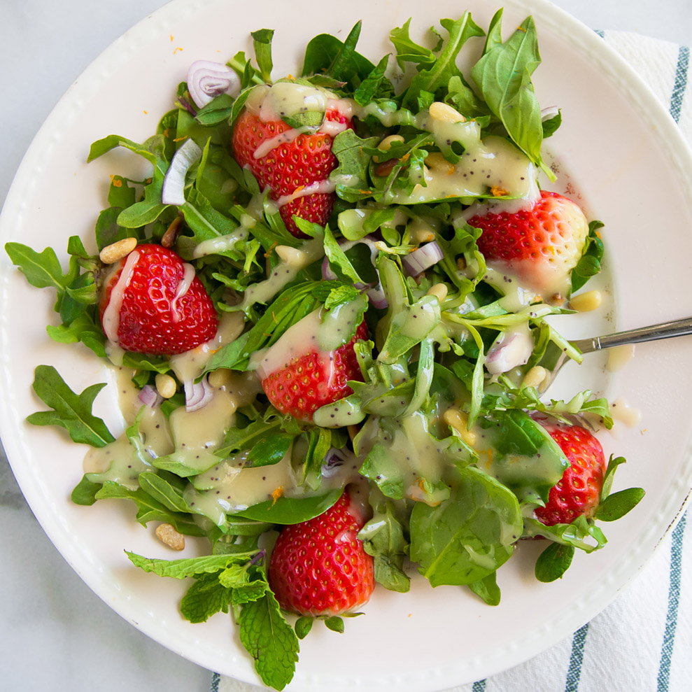 Strawberry Feed Strawberry Arugula Salad 2 (1 of 1)
