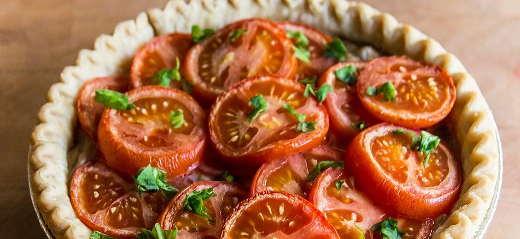Tomato Pie Blog Header