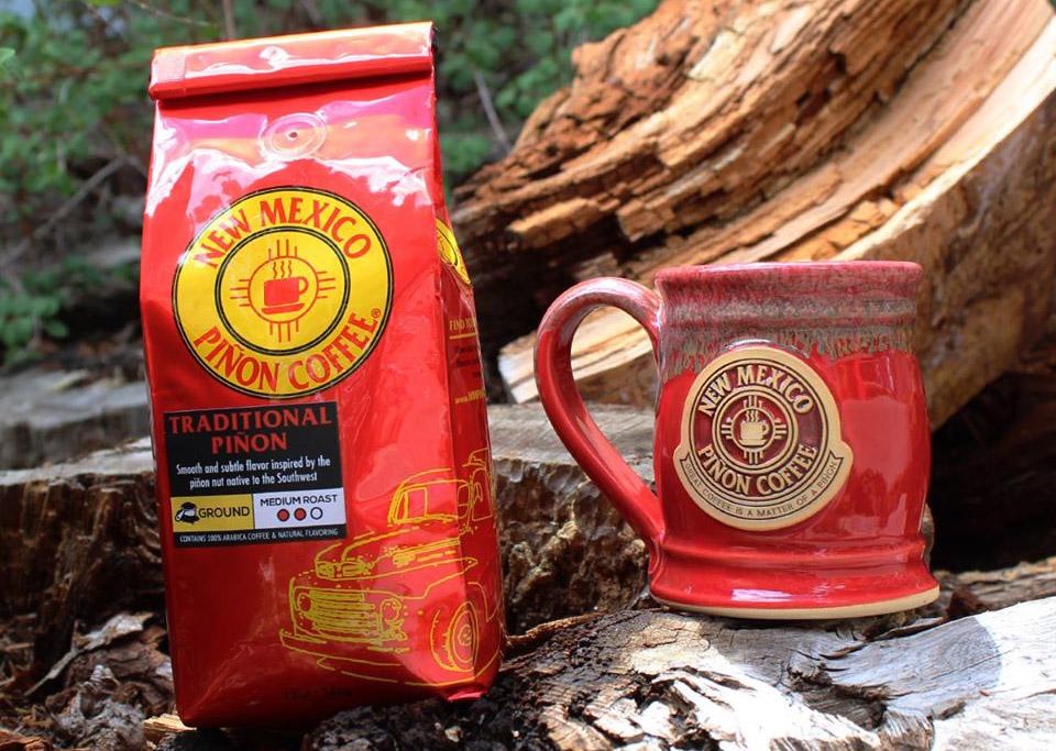 Bag and Mug in Woods
